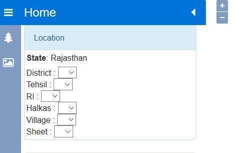 Rajasthan Land Map Portal