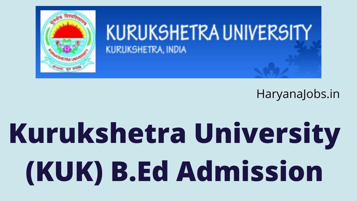 KU Bed Admission 2021