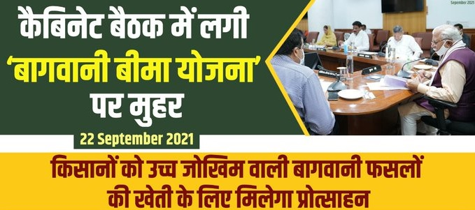 Haryana Chief Minister Horticulture Insurance Scheme